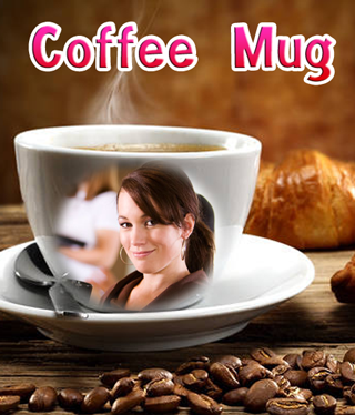 Coffee Mug Photo Frames