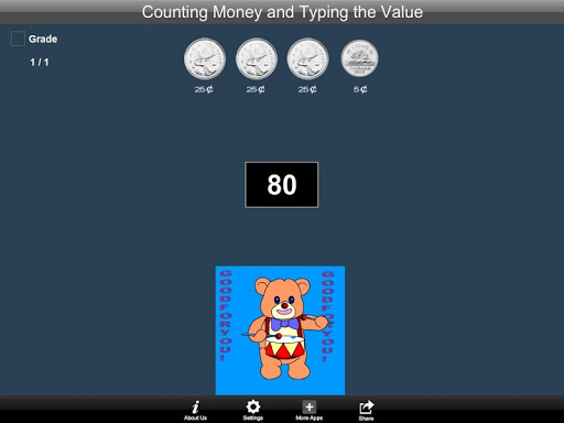 Canadian Counting Money and Typing the Value Lite 1.1 screenshots 4