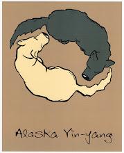 """Photo: """"Alaska Yin-Yang"""" tshirt design"""