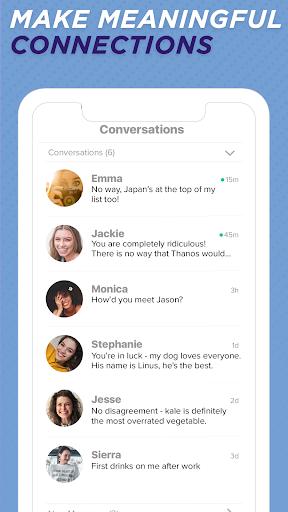 Sweet Pea - Conversations. Dates. Friends. 1.4 screenshots 5