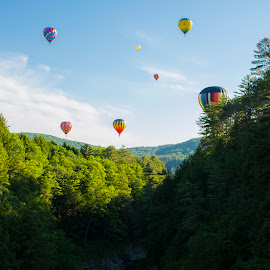 Quechee Gorge, Quechee, VT by Peter Miller - Transportation Other