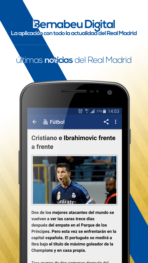Bernabéu Digital (Real Madrid)- screenshot