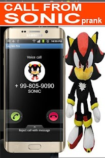 Call From Sonic Prank - náhled