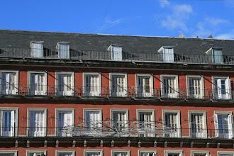 Photo: Tejado de los edificios de la Plaza Mayor