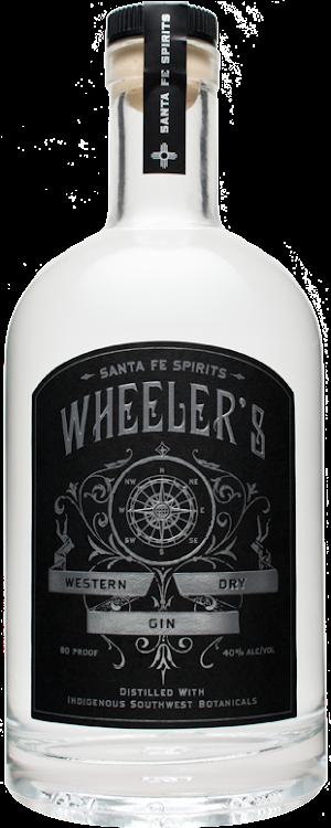 Logo for Wheeler's Western Dry Gin