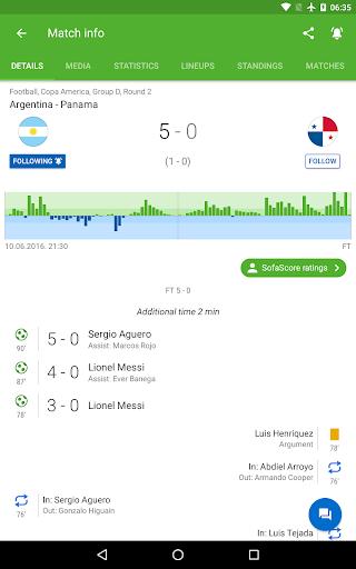 SofaScore: Soccer Scores, Stats & Live Sports App 5.82.9 Screenshots 10