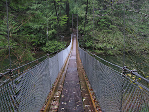 Photo: Suspension bridge