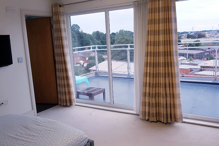Double bed bedroom at Fore Hamlet - Waterfront Area