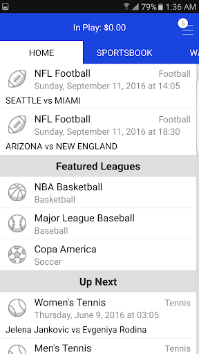 Sports Bettingu2122 Vegas Fantasy 3.5.3 screenshots 1