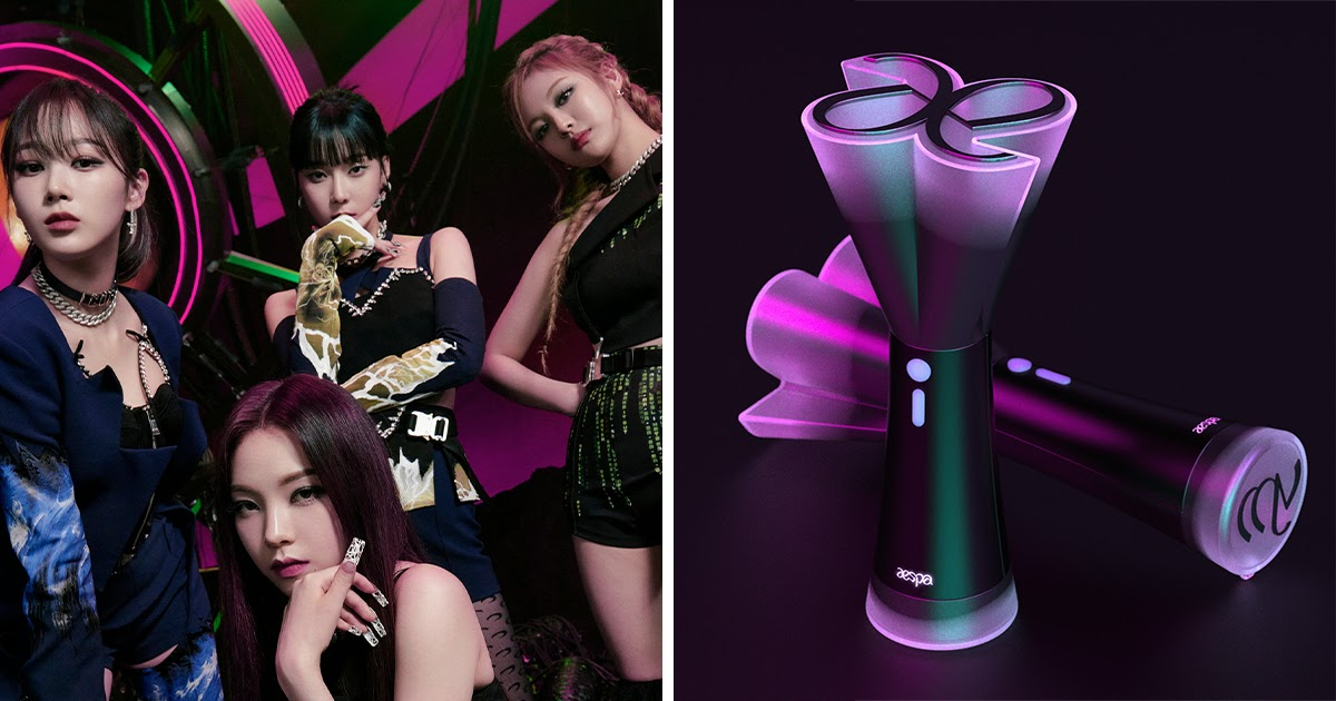 6 Incredible Aespa Lightstick Designs That Need To Become A Reality