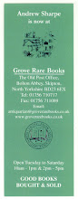 Photo: Grove Rare Books