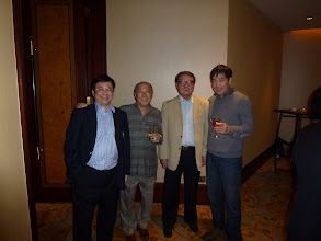 Photo: with Lee Hoi Yuen, Ball Chai and Ko Kwok Keung