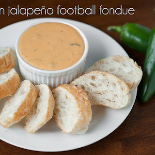 Bacon Jalapeño Football Fondue
