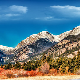 by Bruce Newman - Landscapes Mountains & Hills ( nature, winter, rocky mountains, colorful, landscape,  )