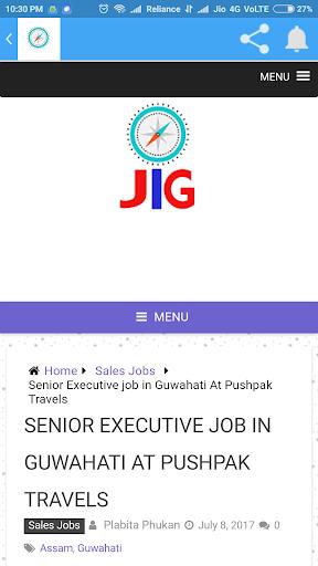 JIG - The Official Job In Guwahati App screenshot 3