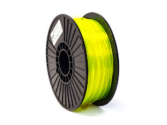 Translucent Neon Yellow PRO Series PLA Filament - 1.75mm (1kg)