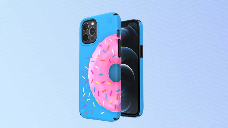 Doughnut-printed thin case for iPhone 12 Pro Max