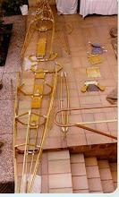 Photo: 1980: Bootsprobeaufbau für die Emstour