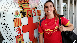 Carmen Martin en el Palacio Mediterráneo.