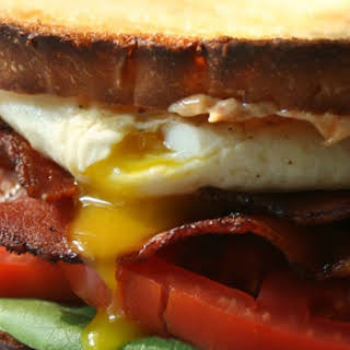 BLT with Fried Egg.