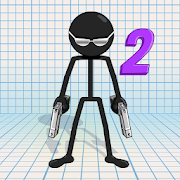 Gun Fu: Stickman 2 [Mega Mod] APK Free Download