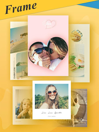 Selfie Camera with Candy Frame 1.6.5 screenshot 312224