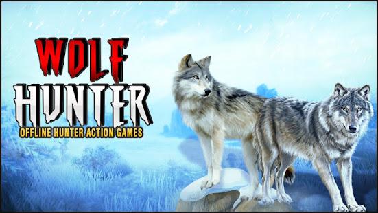 Wolf Hunter 2020: Offline Hunter Action Games 2020 for PC-Windows 7,8,10 and Mac apk screenshot 1