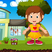 Little Pretty Girl Rescue Kavi Game-387 Android APK Download Free By Kavi Games