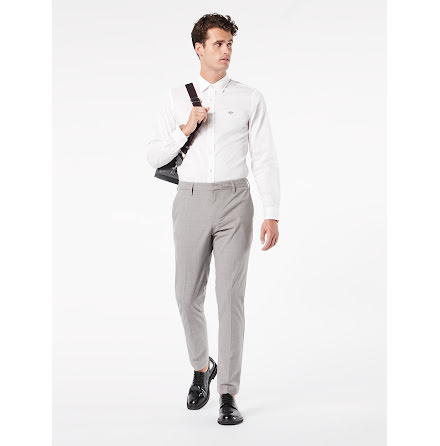 Dockers Trouser 360 flex slim mastin river rock heather grey