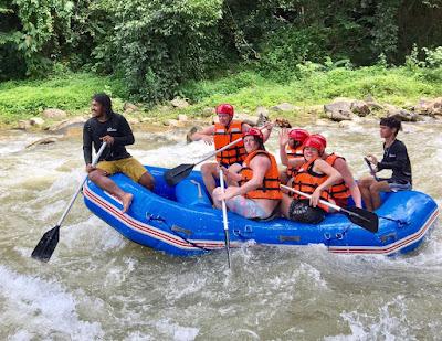 5 km White Water Rafting Adventure on Songprak River from Krabi
