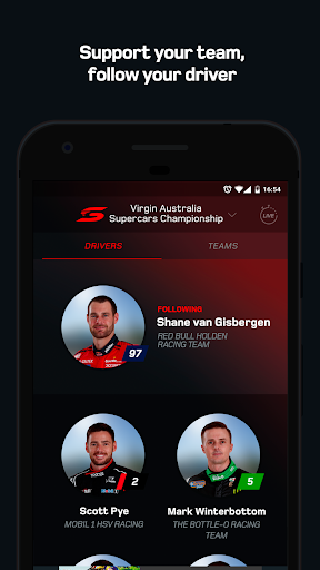 Supercars Official App screenshot