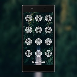 Net White - Icon Pack APK screenshot thumbnail 3