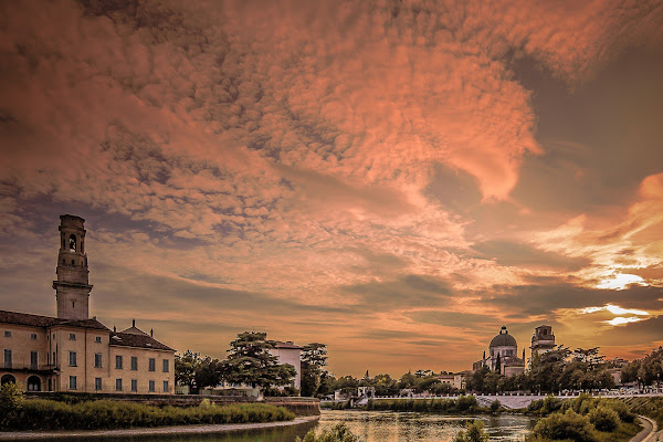 Sunset from Verona di NickAdami