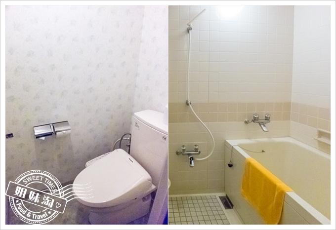 秋田縣十和田湖VIEW飯店三人房衛浴設備