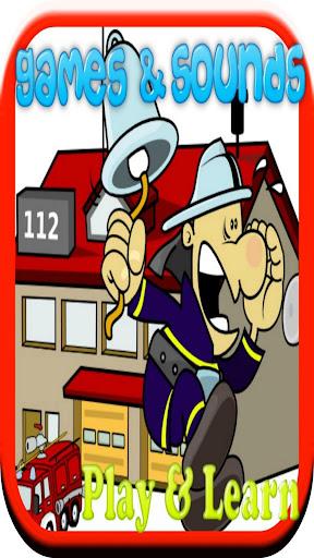 幼児のための消防士のゲーム