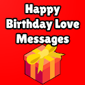 Birthday Love Messages icon