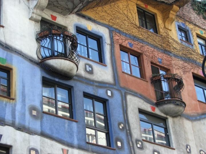 Vienna Huntertwasserhaus di sforzial