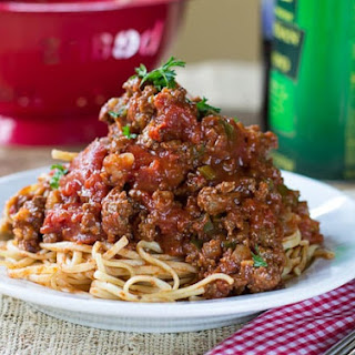 Worcestershire Sauce In Spaghetti Recipes.