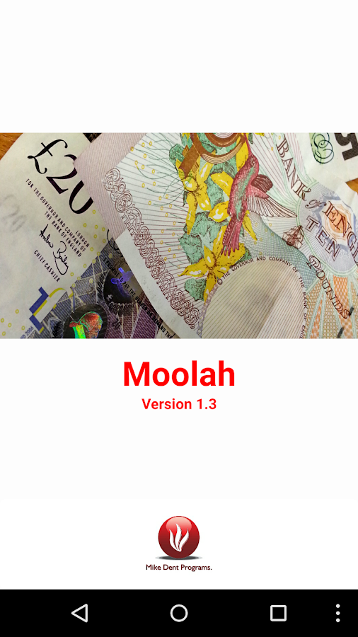 Moolah- screenshot