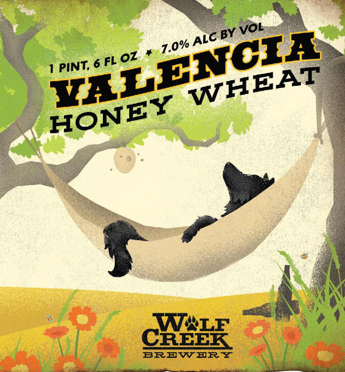 Logo of Wolf Creek Valencia Honey Wheat Ale