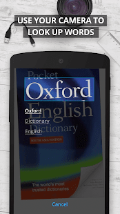 Oxford Dictionary of English- screenshot thumbnail