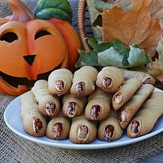 Halloween Witches Fingers Cookies