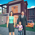 Virtual Dad Life Simulator - Happy Family Games 3D icon
