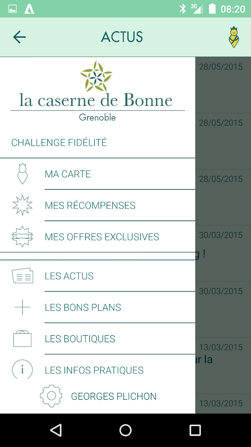 la caserne de Bonne- screenshot