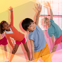 Fun fitness for kids icon