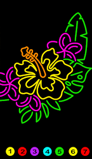 Color By Number Doodle Art - Adult Coloring Pages