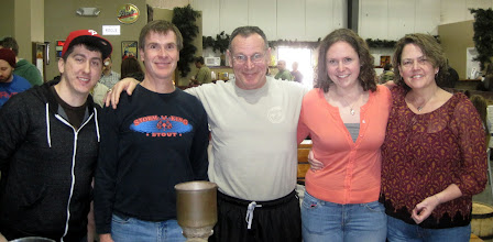 Photo: Making PubScout IPA...Brian, Larry, Jessica and Cindy