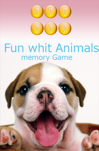 Kids Memory Game: Fun Animals