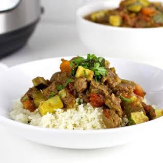 Instant Pot Lamb Curry.