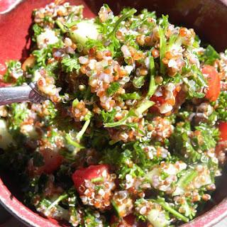 Tangy Quinoa Tabouli